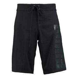 Puma NEW Men's Long Board Swim Shorts - Black BNWT