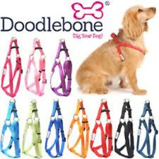 More details for doodlebone bold adjustable nylon dog puppy harness cool colours and 5 sizes