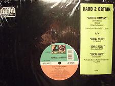 "HARD 2 OBTAIN - GHETTO DIAMOND / LOCAL HERO / ISM & BLUES (12"")  1994!!  RARE!!!"