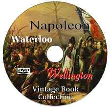 139 Vintage Books Battle of Waterloo Campaign Napoleon Bonaparte Wellington DVD