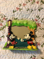 Mickey & Minnie and Mickey Mouse flower - Disney Picture photo Frame decor