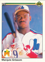 Marquis Grissom 1990 Upper Deck #9  Montreal Expos RC Rookie Baseball Card