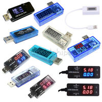 USB OLED LED Battery Charger Power Current Voltage Detector Voltmeter Ammeter
