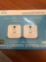Blink X2 Camera Smart Indoor Home Security System White With Sync Module