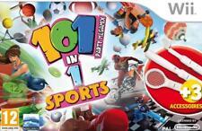 Nintendo Wii Wii-U 101 Sports Games Party Resort + Tennis Golf Baseballschläger