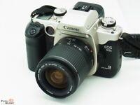 Canon EOS 50E SLR-Kamera + Objektiv EF 28-90mm 4-5,6 USM Zoom AF-augengesteuert