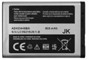 New OEM Samsung AB463446BA T249 Contour R250 T255g T259 R100 A107 A137 Battery