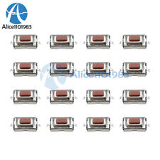 100pcs 3X6X2.5mm Tactile Push Button Switch Tact Switch Micro Switch 2 Pin SMD A