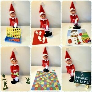 Pack of 24 x Elf Props - Accessories Activities Christmas Games Toys - FREE P&P