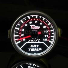 "2"" 52MM CAR LED EXHAUST GAS TEMPERATURE TEMP EGT GAUGE METER POINTER SENSOR AUTO"