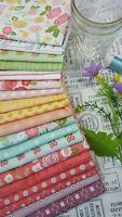LOLLIPOP GARDEN Lella Boutique Vanessa Goertzen Moda Fabrics ~ 19 Fat Quarters