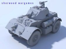 28mm British Staghound Mk2 A/car In Resin By Blitzkrieg WWII Bolt Action,