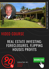 Real Estate Investing: Foreclosures, Flipping Houses Profits video training