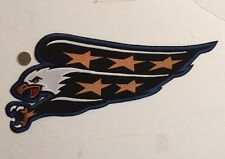 "Washington Capitals NHL Crest/logo  Patch Sew On Iron On 14.5""x 6.25"" Inch"
