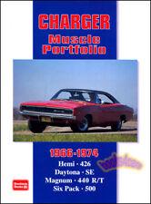 DODGE CHARGER BOOK PORTFOLIO R/T HEMI DAYTONA 500 BROOKLANDS MUSCLE