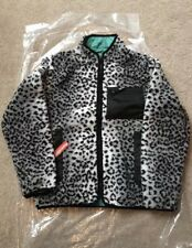 Supreme Teal Leopard Reversible Jacket RARE SOLD OUT
