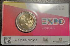 Moneta € 2 Celebrativa Expo Milano 2015