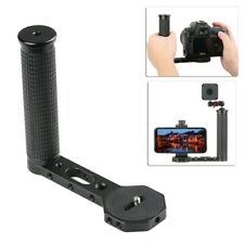 "L Shape Handle Grip Transmount with 1/4"" Universal Screw for Camera Monitor etc."
