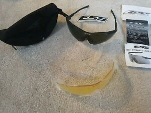 British Military Army ESS ICE ballistic Glasses Spectacles Eyeshield