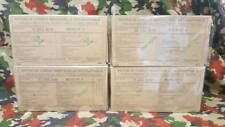 Lot de 4 rations RICR de combat armée française survie ration pack Menu 1/2/3/4