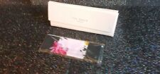 Ted Baker Tri Fold Baby Pink sunglasses/glasses Case and Cloth Brand New Ltd Ed