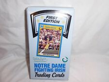 NOTRE DAME FOOTBALL CARD BOX SET 1ST EDITION, 36 UNOPENED PACKS!
