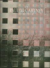 RARE / PROGRAMME CONCERT - PAUL McCARTNEY THE BEATLES LIVE A PARIS 1989 /PROGRAM