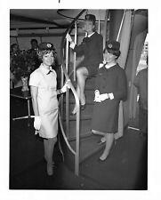 Air France Vintage Uniformed Flight Attendants