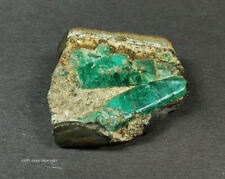 2 EMERALD CRYSTAL ON MATRIX WITH PYRITE 1.25 x 1.25 INCHES 28.7+gr. WITH MATRIX