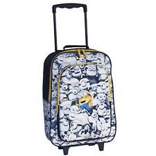 Kindertrolley Minions mit 3D Effekt Trolley Koffer mehrfarbig 32x42x16/21 cm