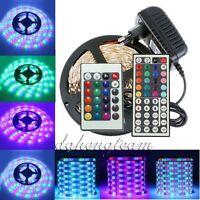 High Quality 3528 SMD Stripe 5M 300 LED Strip Light White RGB For Home Xmas Deco