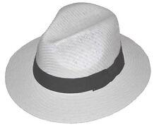 Panama Straw Hat LXL White