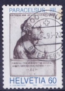 Paracelsus, father of toxicology, Medicine, Switzerland 1993 used