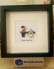 Disney Pixar Toy Story Lego Frame Woody Buzz Lightyear Jesse Zorg friend in me