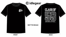 "Classic Mini Cooper 1275gt T Shirt "" Class of 59"""
