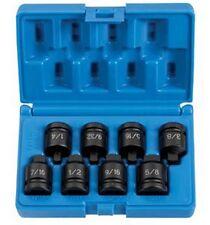 "1/2"" Drive 8 Pc. Pipe Plug Socket Set GRY-1308P Brand New!"