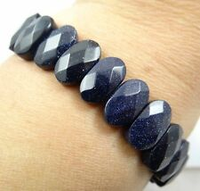 Beautiful Gemstone Blue sand stone Handmade Gemstone Jewellery bracelet