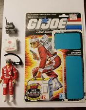 "LIFELINE GI Joe 3 3/4"" Figure (Hasbro 1986) with file card"
