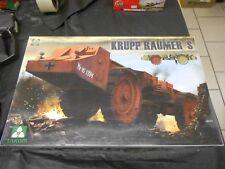 TAKOM 2053 1/35 KRUPP RAUMER S WWII GERMAN SUPER MINE CLEARING VEHICLE MODEL KIT