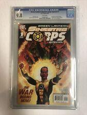 Green Lantern Sinestro Corps Special (2007) # 1 (CGC 9.8 WP) Geoff Johns