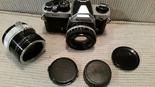 Nikon FM2 Fillm Camera with Series E 50mm Lens and 3X NT Auto Teleplus