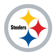 "Pittsburgh Steelers Decal Indoor - Outdoor - Car-  Truck - Window 4.0"" x 4.0"""