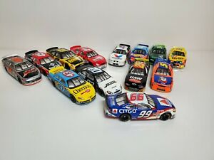 Lot of 13 Nascar Diecast 1:64 Scale Cars Hot wheels!
