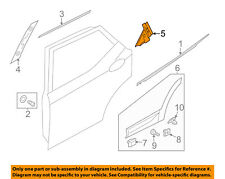HYUNDAI OEM 13-15 Santa Fe Exterior-Rear-Applique Window Trim Left 83270B8000