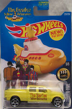 Hot Wheels a medida FORD f-150 THE BEATLES YELLOW SUBMARINE Edición Limitada