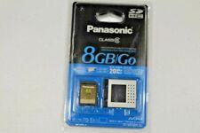 Panasonic Memory Card RP-SDV08G -  8GB/Go SDHC CLASS 6