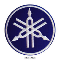 Yamaha Motor Bike Brand Logo Embroidered Patch Iron on Sew On Badge