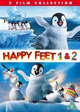 Happy Feet 1 & 2 DVD Box Set New 2012 Region 2