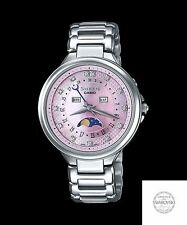 SHE-3044D-4A Pink Stainless Steel Band Casio Sheen Ladies Watches Analog New