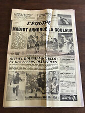 Journal l'équipe - 2 Juillet 1984 - 39 eme année - n 11863